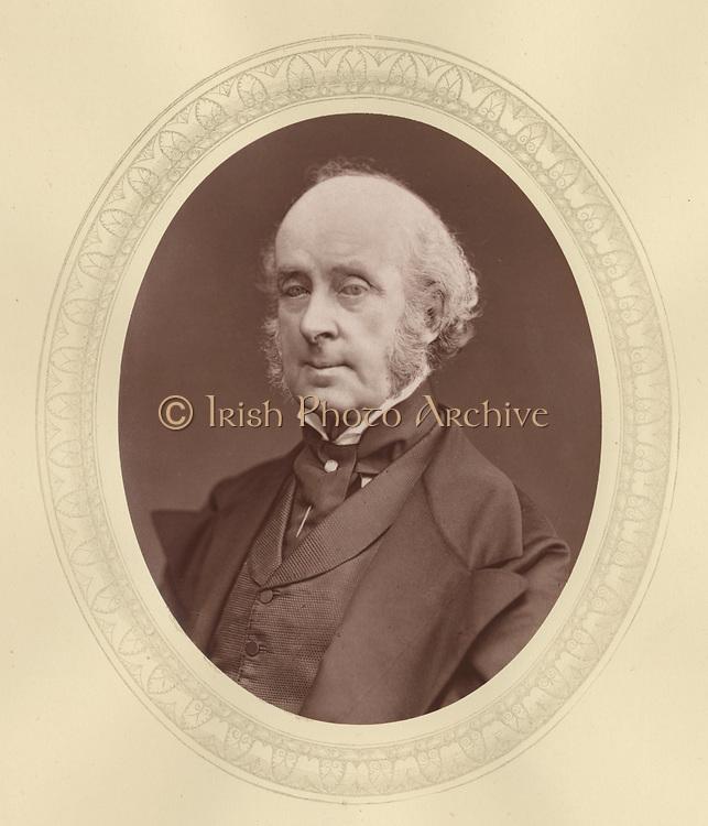 'James Talbot, 4th Baron Talbot de Malahide (1805-1883) c1876, Anglo-Iriish Liberal politician and amateur aechaeologist.'