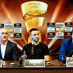 World Boxing Super Series Press Conference, Glasgow. 15 October 2018