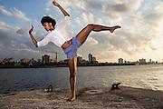 Stephanie Hardy Lopez, member of Danza Contemporánea de Cuba