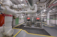 Interior image of mechanical room at the University Club in Washington DC by Jeffrey Sauers of Commercial Photographics, Architectural Photo Artistry in Washington DC, Virginia to Florida and PA to New England