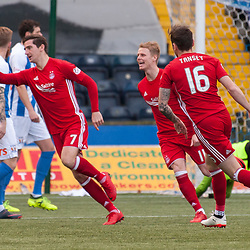Aberdeen celebrations for #7 Kenny McLean's opener - Kilmarnock v Aberdeen - Ladbrokes Premiership - 26 November 2017 - © Russel Hutcheson | SportPix.org.uk