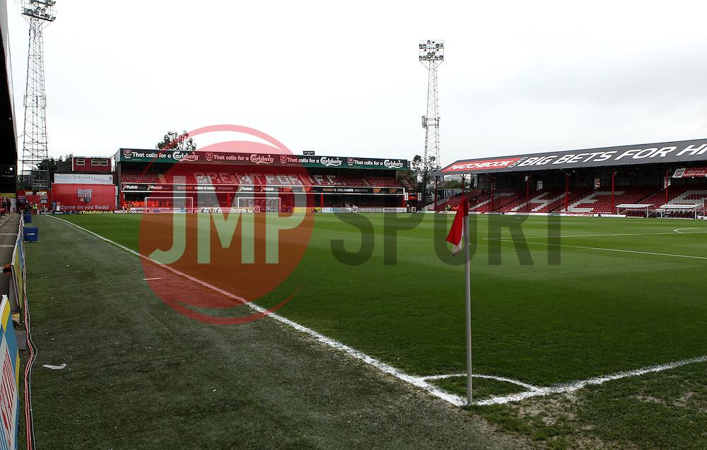 Griffin Park - Photo mandatory by-line: Robbie Stephenson/JMP - Mobile: 07966 386802 - 08/05/2015 - SPORT - Football - Brentford - Griffin Park - Brentford v Middlesbrough - Sky Bet Championship