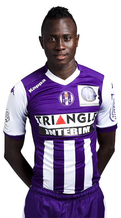 Issiaga Sylla - 03.10.2014 - Portrait Officiel - Toulouse - Ligue 1<br /> Photo : Saada / Icon Sport