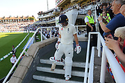 Rory Burns of England walks out to bat on day 3 during the 5th International Test Match 2019 match between England and Australia at the Oval, London, United Kingdom on 14 September 2019.