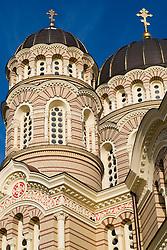 Katedral, Riga, Latvia - Cathedral near Riga's Freedom Monument.