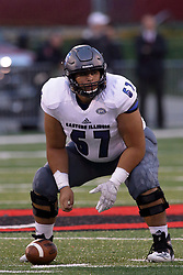 NORMAL, IL - September 08: ELIKI TANUVASA during 107th Mid-America Classic college football game between the ISU (Illinois State University) Redbirds and the Eastern Illinois Panthers on September 08 2018 at Hancock Stadium in Normal, IL. (Photo by Alan Look)