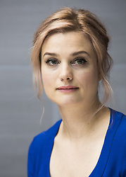 November 6, 2016 - New York, New York, U.S. - ALISON SUDOL stars in the movie Fantastic Beasts and Where to Find Them. Sudol born December 23, 1984, is an American alternative singer-songwriter, pianist and actress. Her debut album 'One Cell in the Sea' was released in 2007, followed in 2009 by 'Bomb in a Birdcage.' An Ilvermorny school song written by Sudol was cut from movie but will make DVD. (Credit Image: © Armando Gallo/Arga Images via ZUMA Studio)