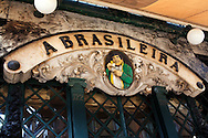 Pastelaria A Brasileira at Rua Garrett, in the Chiado district, was the favorite of Fernando Pessoa, one of the most famous portuguese poets.