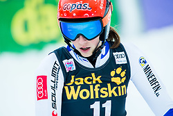 "Petra Vlhova (SVK) during the FIS Alpine Ski World Cup 2017/18 5th Ladies' Giant Slalom race named ""Golden Fox 2018"", on January 6, 2018 in Podkoren, Kranjska Gora, Slovenia. Photo by Ziga Zupan / Sportida"