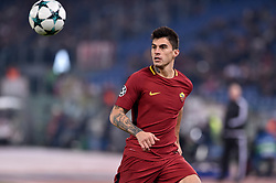 December 5, 2017 - Rome, Italy - Diego Perotti of Roma during the UEFA Champions League match between Roma and Qarabag at Stadio Olimpico, Rome, Italy on 5 December 2017  (Credit Image: © Giuseppe Maffia/NurPhoto via ZUMA Press)