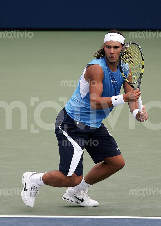 Tennis Masters Series Toronto Rogers Cup 2006 Rafael NADAL (ESP) Vorhand, forehand.