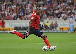 01.09.2018, VfB Stuttgart vs FC Bayern, Mercedes Benz Arena Stuttgart, Fussball, Sport, im Bild:...Jerome Boateng (FCB)...DFL REGULATIONS PROHIBIT ANY USE OF PHOTOGRAPHS AS IMAGE SEQUENCES AND / OR QUASI VIDEO...Copyright: Philippe Ruiz..Handy: 0177 29 39 408. (Credit Image: © Philippe Ruiz/Xinhua via ZUMA Wire)