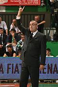 DESCRIZIONE : Siena Lega A1 2007-08 Playoff Finale Gara 5 Montepaschi Siena Lottomatica Virtus Roma <br /> GIOCATORE : Jasmin Repesa<br /> SQUADRA : Lottomatica Virtus Roma<br /> EVENTO : Campionato Lega A1 2007-2008 <br /> GARA : Montepaschi Siena Lottomatica Virtus Roma<br /> DATA : 12/06/2008 <br /> CATEGORIA : curiosita ritratto<br /> SPORT : Pallacanestro <br /> AUTORE : Agenzia Ciamillo-Castoria/M.Marchi