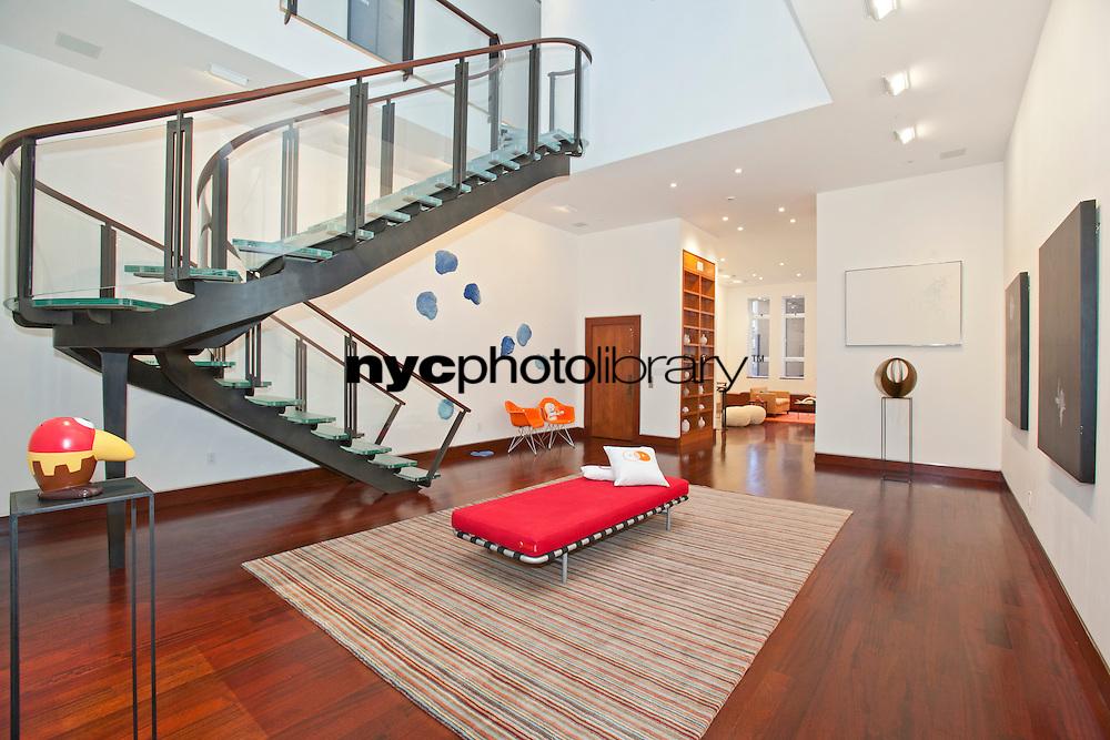 Living Room at 247 Central Park West