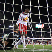 Thierry Henry helps Real Salt Lake goalkeeper Jeff Attinella to his feet after the final goal in the 4-3 Red Bulls win during the New York Red Bulls V Real Salt Lake, Major League Soccer regular season match at Red Bull Arena, Harrison, New Jersey. USA. 27th July 2013. Photo Tim Clayton