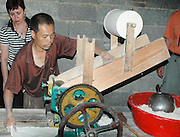 China, Guilin Cottage industry, Noodle factory