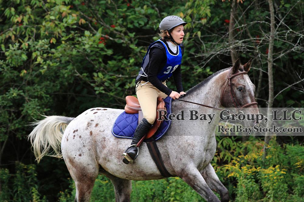 Jessica Boyd and Sanjen's Rezult at the 2009 Strathgartney Autmn Horse Trials in Bonshaw, PEI.