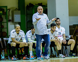 Borut Macek, head coach of Iran during Handball friendly match between Slovenia and Iran, on January 4, 2018 in Dol pri Hrastniku, Dol pri Hrastniku, Slovenia. Photo by Ziga Zupan / Sportida