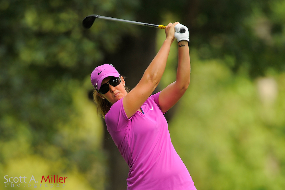Kristie Smith during the Symetra Tour's Eagle Classic at the Richmond Country Club on August 18, 2012 in Richmond, Va...©2012 Scott A. Miller