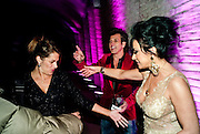 TRACEY EMIN; STEPHEN WEBSTER; NANCY DELL D'OLIO, Stephen Webster: 7 Deadly Sins And No Regrets - launch party, Old Vic Tunnels (formerly Leake Street Tunnel), Waterloo, London SE1, 8 December 2010. DO NOT ARCHIVE-© Copyright Photograph by Dafydd Jones. 248 Clapham Rd. London SW9 0PZ. Tel 0207 820 0771. www.dafjones.com.