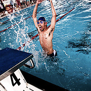 Italy, Biella- Italian National Games 2012. The mission of Special Olympics is to provide sports training and athletic competition for children and adults with intellectual disabilities, giving them continuing opportunities to develop physical fitness, demonstrate courage, experience joy and participate in a sharing of gifts, skills and friendship with their families, other athletes and the community. 2012 © Mama2
