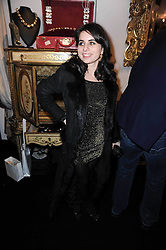 ASSISI JACKSON daughter of Jade Jagger at the opening of Jade Jagger's shop at 43 All Saints Road, London W11 on 25th November 2009.