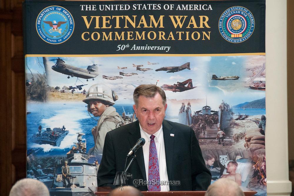 Vietnam Veterans Day in Georgia - A tribute to Georgia Vietnam Medal of Honor Recipients, Atlanta, Georgia Claude M Kicklighter Army Lt General Retrired Director of Communications US Department of Defense