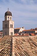 The terracotta rooftops of Dubrovnik,<br /> Croatia<br /> c. Ellen Rooney