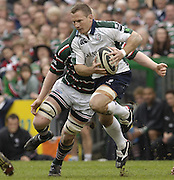 Leicester, ENGLAND.  Robbie Russell, Guinness Premiership Semi-Final. Leicester Tigers vs London Irish, at Welford Road, 05.2006. © Peter Spurrier/Intersport-images.com,  / Mobile +44 [0] 7973 819 551 / email images@intersport-images.com.   [Mandatory Credit, Peter Spurier/ Intersport Images].14.05.2006