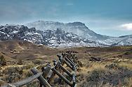 fresh snow, Absaroka Mountain, Wapati Valley, Bighorn Basin, Cody Wyoming