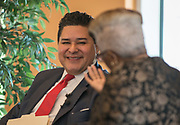 Houston ISD Superintendent Richard Carranza participates in a Coffee and Conversation sponsored by the Houston Defender and Kelsey-Seybold, June 20, 2017.
