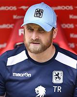 Fussball  3. Liga  Saison 2018/2019  1. Spieltag  1. FC Kaiserslautern - TSV 1860 Muenchen     28.07.2018 Trainer Daniel Bierofka (1860 Muenchen)