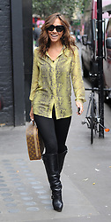 Myleene Klass at The Ivy restaurant in London, UK. 19/09/2013<br />BYLINE MUST READ : GOTCHAIMAGES.COM<br /><br />Copyright by © Gotcha Images Ltd. All rights reserved.<br />Usage of this image is conditional upon the acceptance <br />of Gotcha Images Ltd, terms and conditions available at<br />www.gotchaimages.com