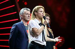 July 6, 2017 - Hamburg, Hamburg, Deutschland - Shakira und Mauricio Macri (Präsident Argentinien) beim Global Citizen Festival anlässlich des G20-Gipfel in der Barclaycard Arena. Hamburg, 06.07.2017 (Credit Image: © Future-Image via ZUMA Press)
