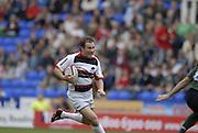 Reading, GREAT BRITAIN, Saracens, Glenn JACKSON,  on the break, during the EDF Energy Cup, rugby match, London Irish vs Saracens at the Madejski  Stadium, ENGLAND, 30/09/2006. [Photo, Peter Spurrier/Intersport-images]..