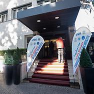 entrata<br /> Incontro Nazionale  Coordinatori Salvamento FIN 2018<br /> Federazione Italiana Nuoto - Settore Salvamento<br /> Roma Italy 9-11  Novembre 2018<br /> Foto Giorgio Scala/Deepbluemedia