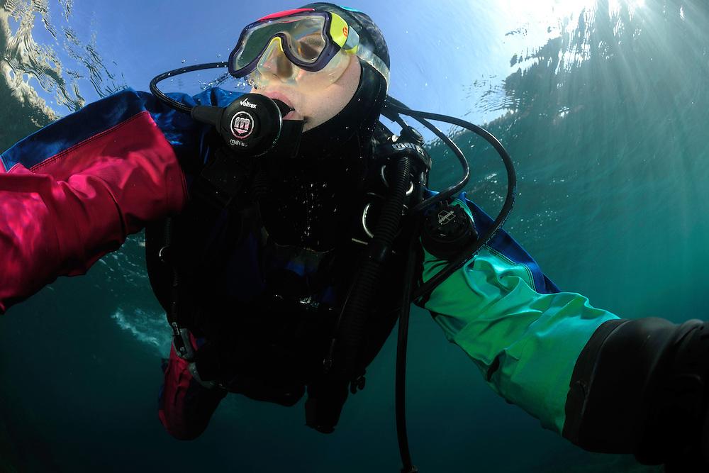 Diving, Gozo, Maltese Islands