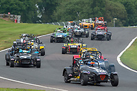 #72 GREENWOOD / HAIRE Caterham Supersport  during CSCC Gold Arts Magnificent Sevens  as part of the CSCC Oulton Park Cheshire Challenge Race Meeting at Oulton Park, Little Budworth, Cheshire, United Kingdom. June 02 2018. World Copyright Peter Taylor/PSP.