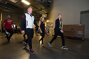 LAS VEGAS, NV - JULY 8:  Brock Lesnar enters the building before the UFC 200 weigh-ins at T-Mobile Arena on July 8, 2016 in Las Vegas, Nevada. (Photo by Cooper Neill/Zuffa LLC/Zuffa LLC via Getty Images) *** Local Caption *** Brock Lesnar