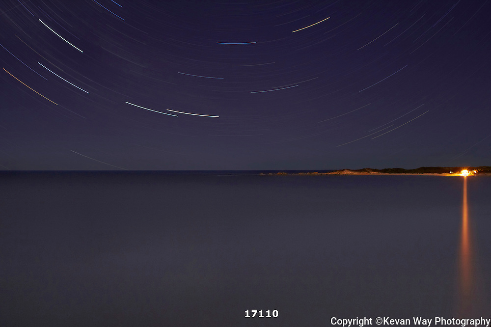 star trails at Point Roadknight