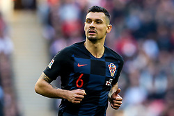 Dejan Lovren of Croatia - Mandatory by-line: Robbie Stephenson/JMP - 18/11/2018 - FOOTBALL - Wembley Stadium - London, United Kingdom - England v Croatia - UEFA Nations League