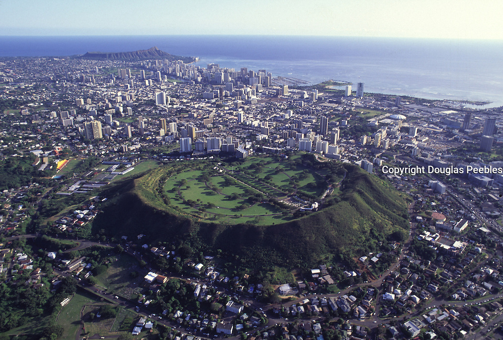 Punchbowl National Monument, Oahu, Hawaii<br />