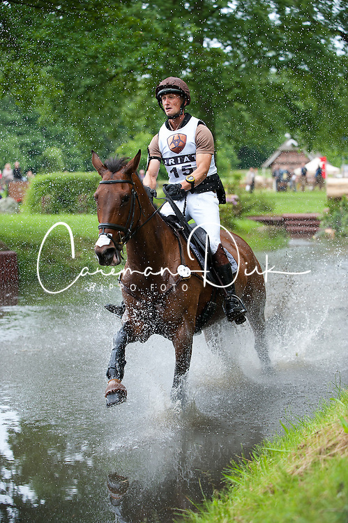 Christopher Six (FRA) - Lytchie de la Gane Cross Country - CCI4* Luhm&uuml;hlen 2012<br /> &copy; Hippo Foto - Jon Stroud