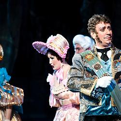Teatro dell'Opera Nazionale Taras Shevchenko. Cenerentola di Giacomo Puccini. Aleksander Boyko, Svetlana Godlevskaya e Oksana Tereshenko