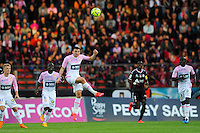 Mathieu DUHAMEL - 09.05.2015 -  Evian Thonon / Reims  - 36eme journee de Ligue 1<br />