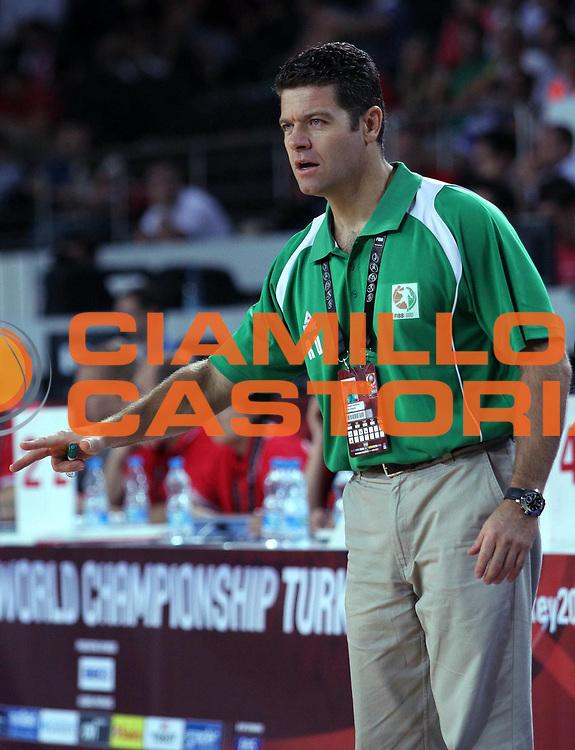 DESCRIZIONE : Ankara Turchia Turkey Men World Championship 2010 Campionati Mondiali Cote d'Ivoire Greece<br /> GIOCATORE : Randoald Dessarzin<br /> SQUADRA : Cote d'Ivoire Costa d'Avorio<br /> EVENTO : Ankara Turchia Turkey Men World Championship 2010 Campionato Mondiale 2010<br /> GARA : Cote d'Ivoire Greece Costa d'Avorio Grecia<br /> DATA : 01/09/2010<br /> CATEGORIA : ritratto headshot<br /> SPORT : Pallacanestro <br /> AUTORE : Agenzia Ciamillo-Castoria/A.Vlachos<br /> Galleria : Turkey World Championship 2010<br /> Fotonotizia : Ankara Turchia Turkey Men World Championship 2010 Campionati Mondiali Cote d'Ivoire Greece<br /> Predefinita :