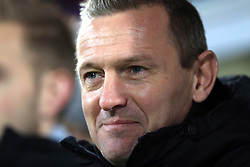 England U21 manager Aidy Boothroyd during the international friendly match at the Blue Water Arena, Esbjerg.