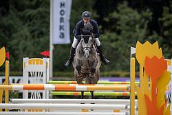 Priemis Michel, NED, Jumper<br /> KWPN Kampioenschappen - Ermelo 2019<br /> © Hippo Foto - Dirk Caremans<br /> Priemis Michel, NED, Jumper