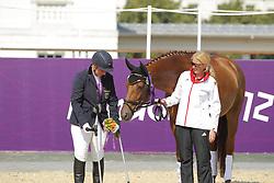 Näpel, Britta;<br /> Haas, Melanie, Aquilian<br /> London Paralympics 2012<br /> Grade II Freestyle<br /> © www.sportfotos-lafrentz.de/ Stefan Lafrentz