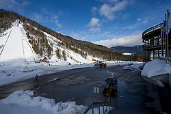 Preparation of Planica before FIS Ski Flying World Cup, on March 7, 2018 in Planica, Ratece, Slovenia. Photo by Urban Urbanc / Sportida